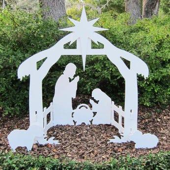 Holy Night Outdoor Nativity Set