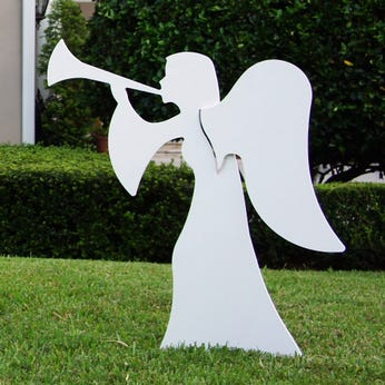 Nativity Angel 2 Piece Set (Large)