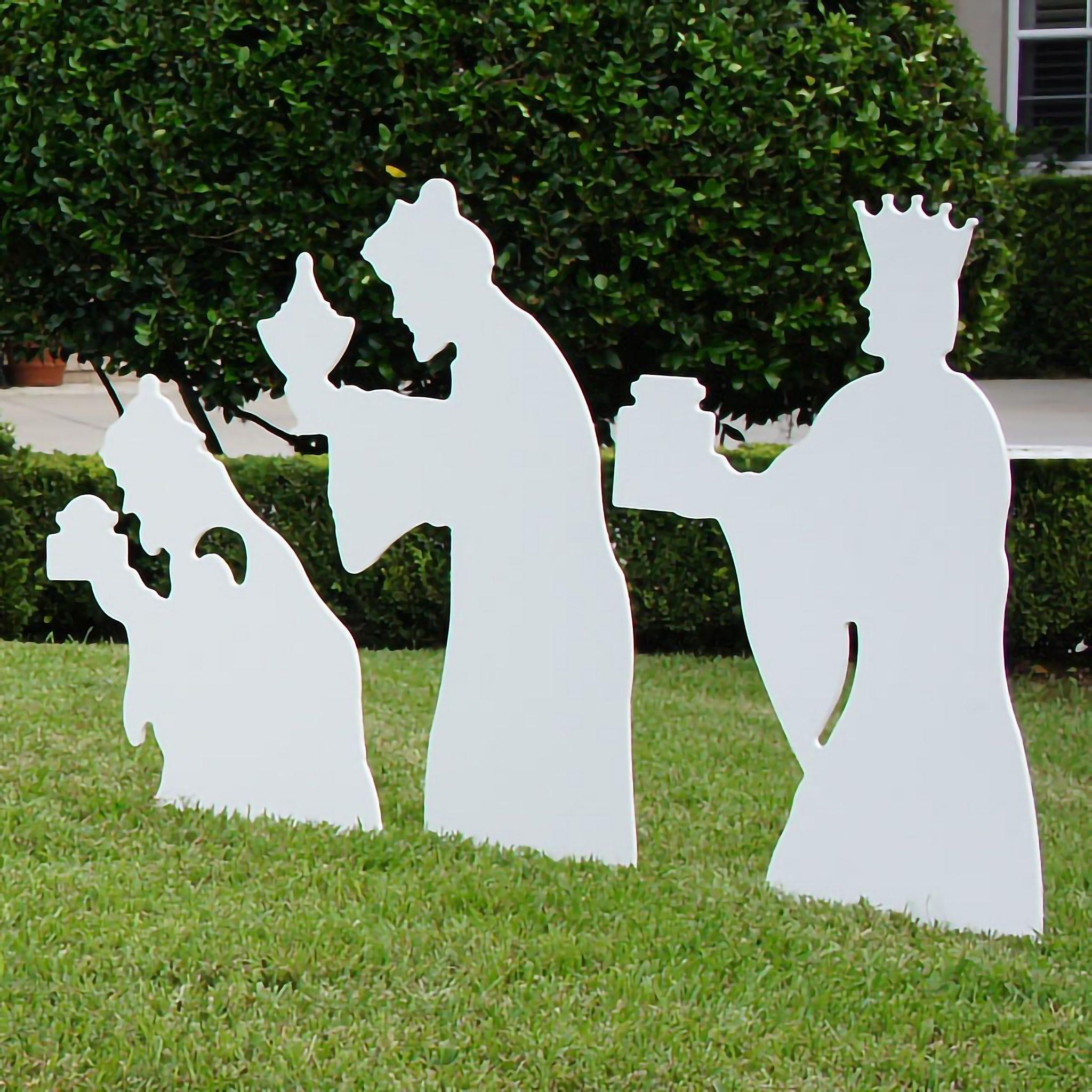 Three Wise Men Nativity Figures (Large)