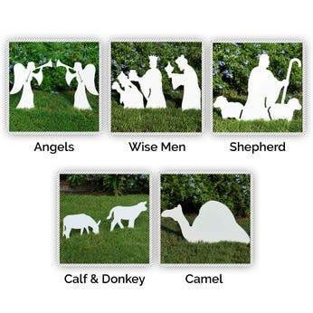 Nativity Figures Full Add-On Set