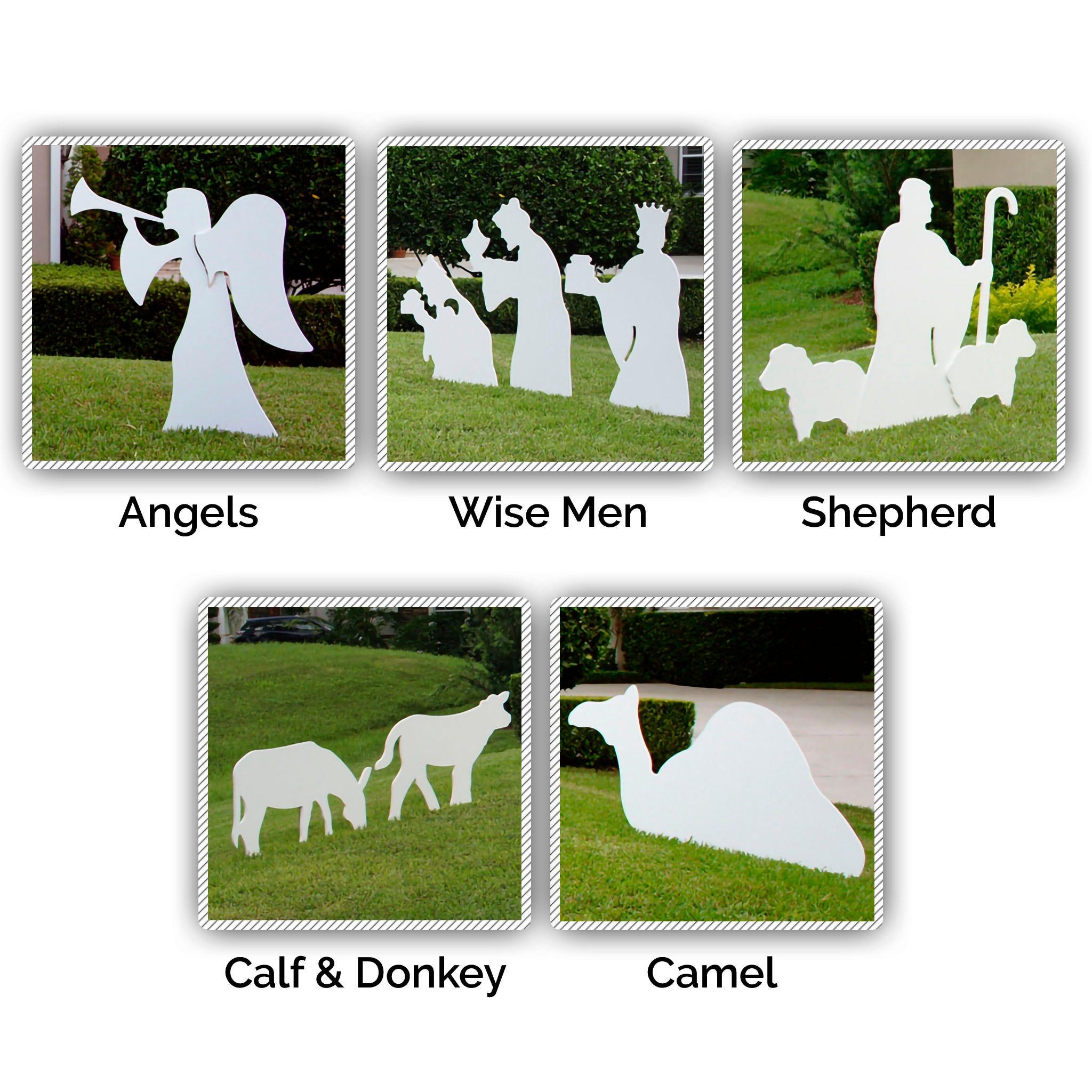 Nativity Figures Full Add-On Set (Large)