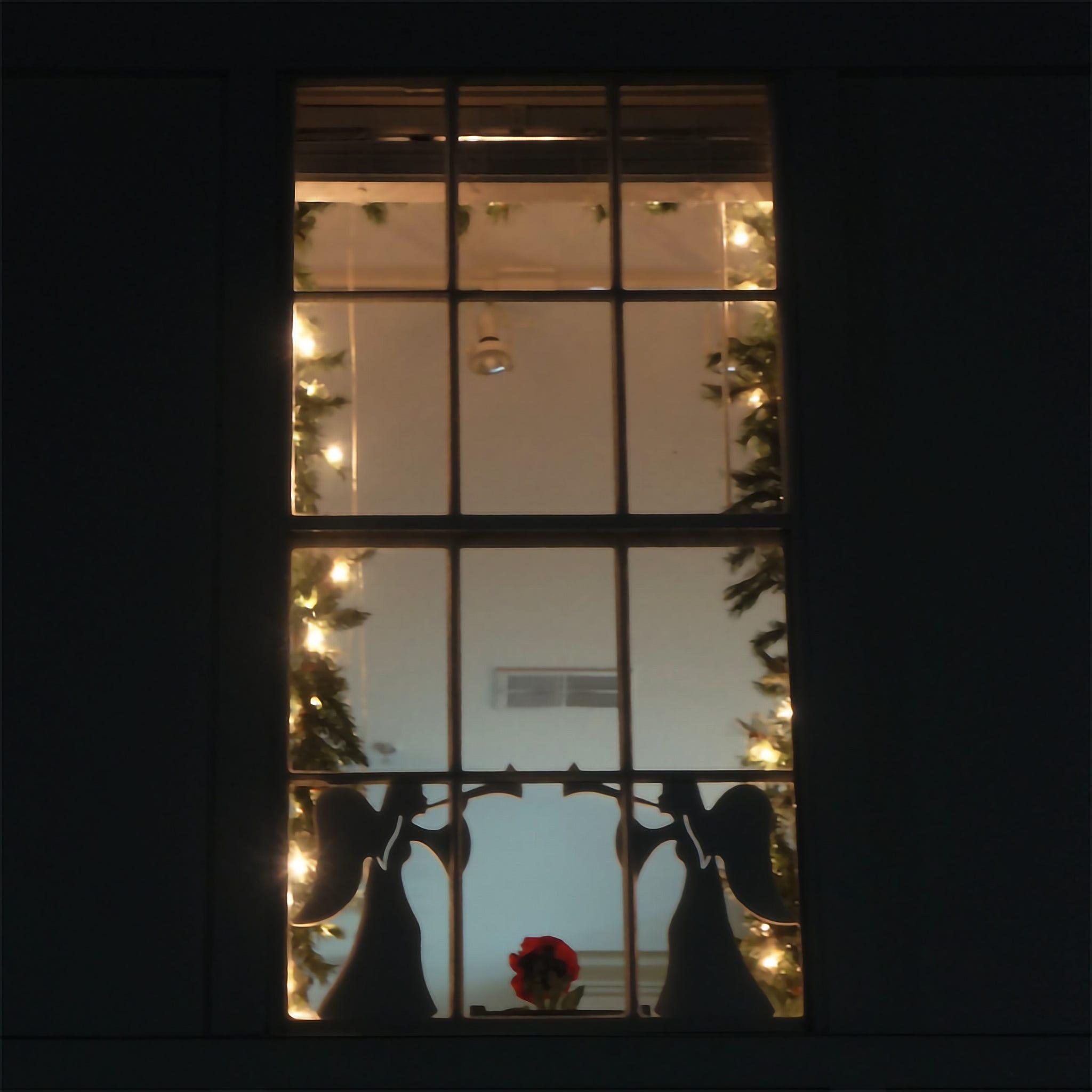Upright Angel Window/Wall Decoration