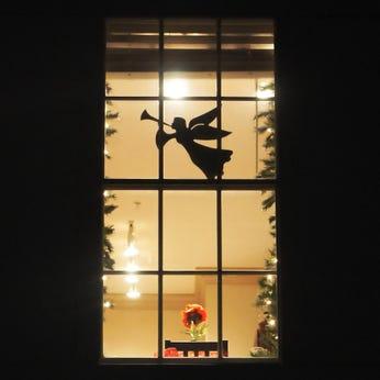 Flying Angel Window/Wall Decoration