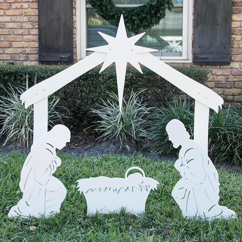 Holy Family Outdoor Nativity Set