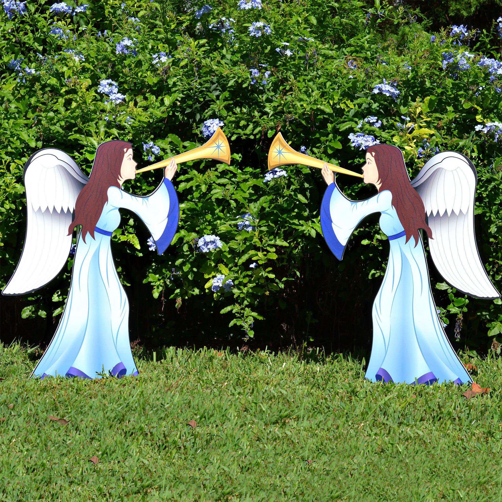 Nativity Angel 2 Piece Set (Printed)