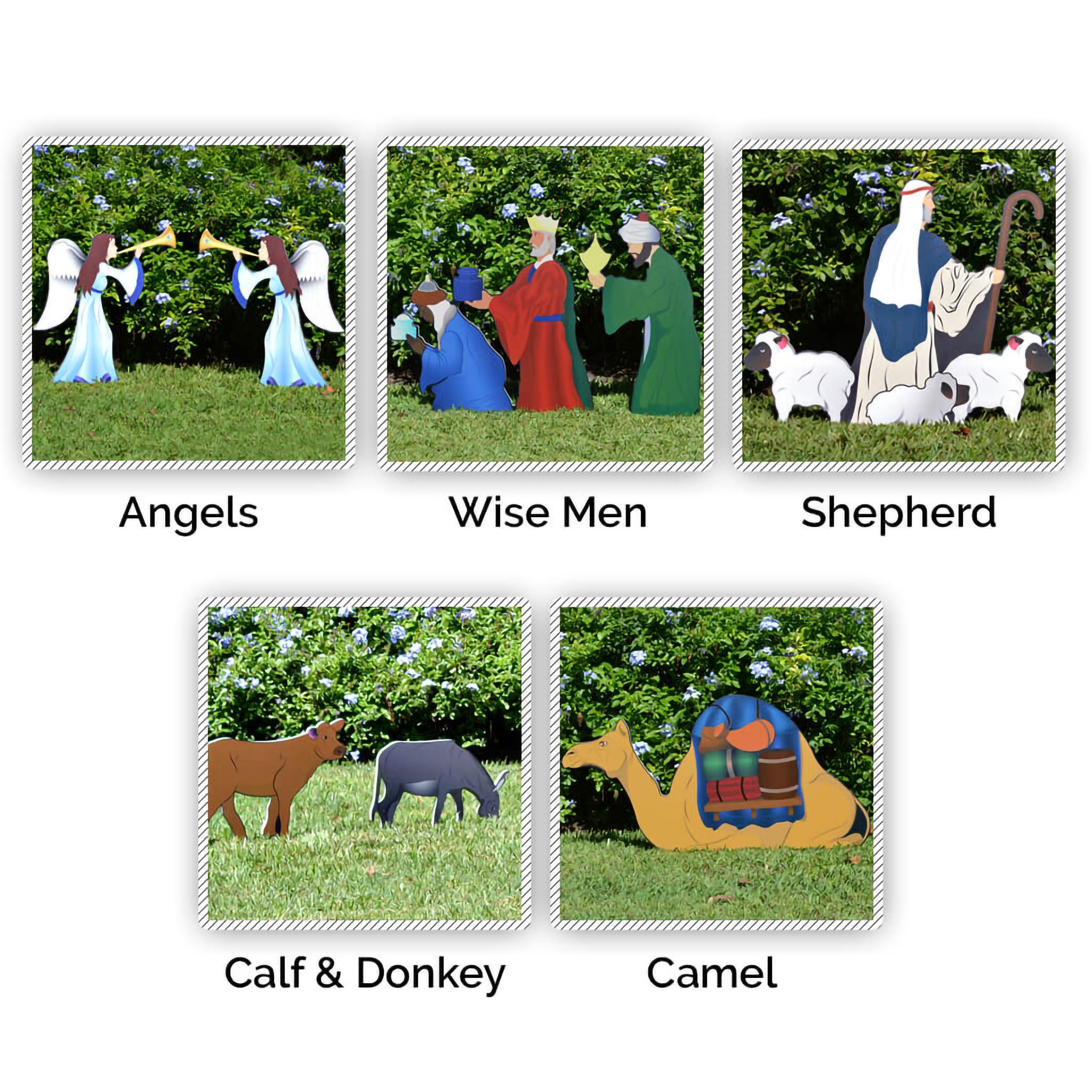 Nativity Figures Full Add-On Set (Printed)