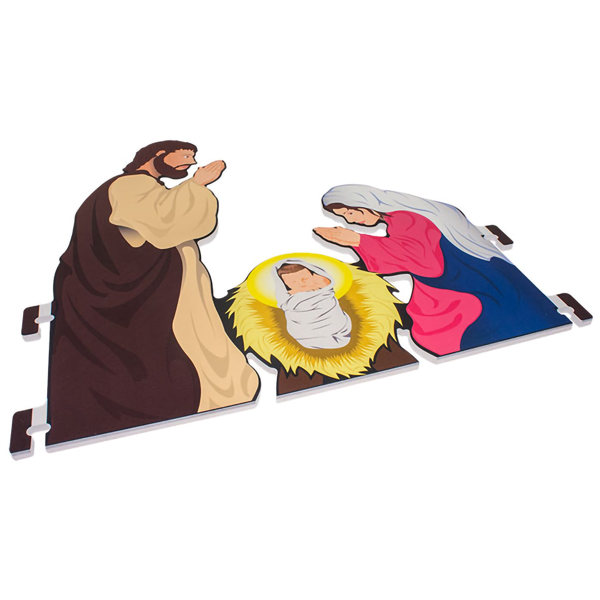 Printed Nativity Holy Family Only